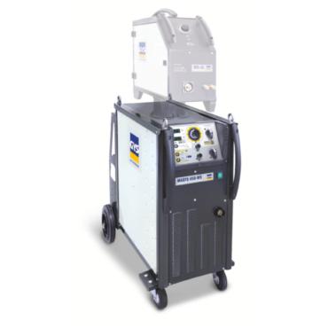 MAGYS 450-WS Önálló huzaltovábbítóval egy 3 fázisú szinergikus vezérlésű vízhűtéses MÍG-MAG hegesztőgép