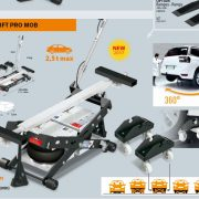 Spot Lift Pro Mob dupla légzsákos mobil ollós X emelő
